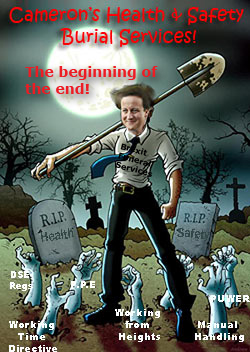 Pic: CAmeron begins the end of H&S